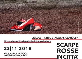 mostra fotografica scarpe rosse in citta il liceo artistico enzo rossi contro la violenza sulle donne il liceo artistico enzo rossi contro la